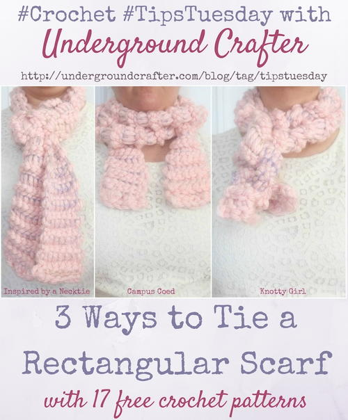 3 Ways to Tie a Rectangular Scarf