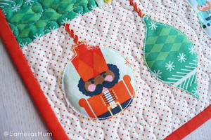 Nutcracker Ornament Table Runner