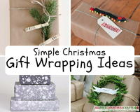 47 Simple Gift Wrapping Ideas for Christmas