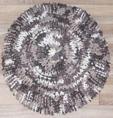 Knit Pouf With Pizzazz Allfreeknitting