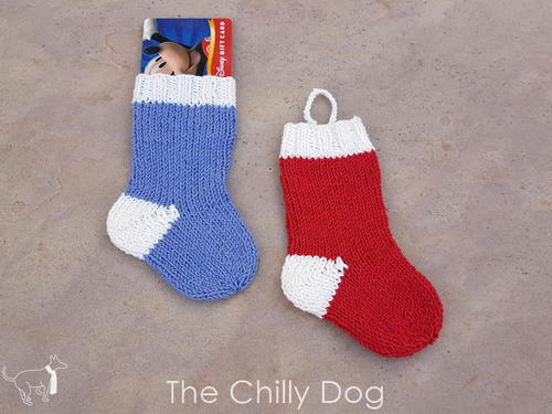 Christmas Sock Ornament
