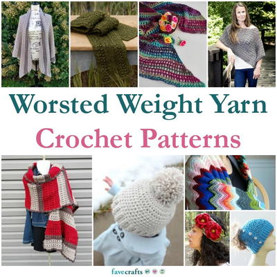Worsted Weight Yarn Crochet Patterns