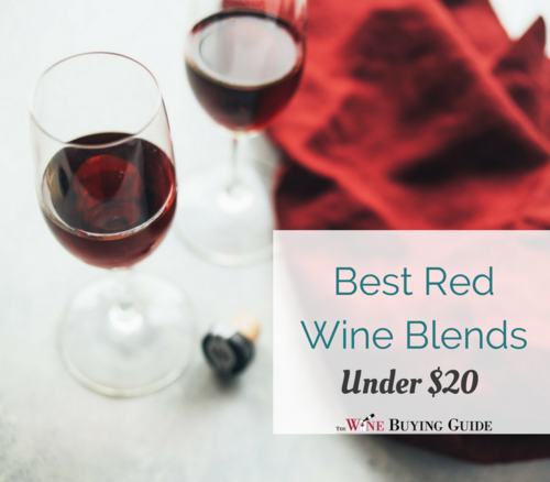 Best Red Wine Blends Under 20