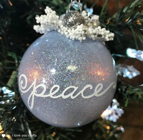 Shine Bright Christmas Ornament