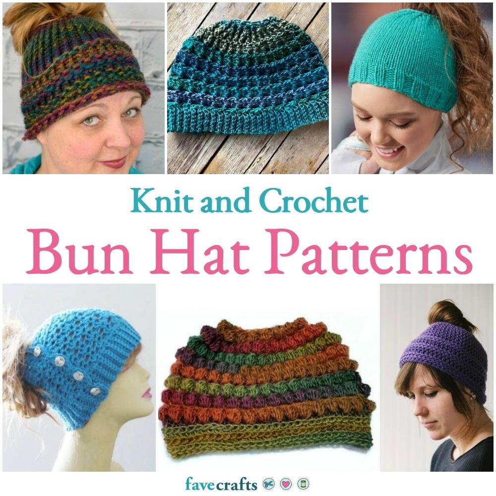 Trolls Knitting Or Crocheting Patterns : Knit and crochet bun hat patterns favecrafts