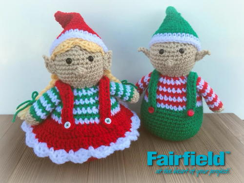 Chubby Christmas Crochet Elf Patterns