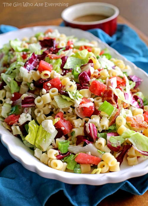 Copycat Portillos Chopped Salad and Dressing