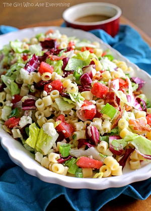 Copycat Portillo's Chopped Salad and Dressing
