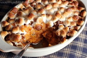 Sweet Potato Casserole for Two