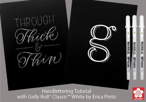 Gelly Roll Hand Lettering Tutorial