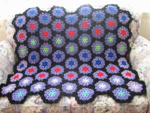 Starry Night Afghan