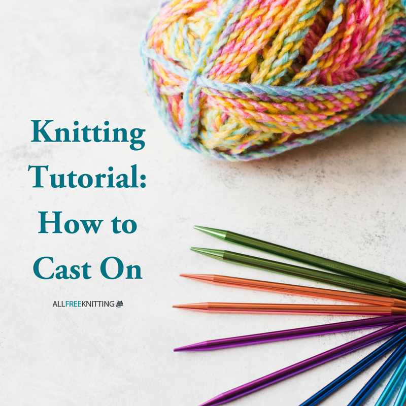 Knitting How To Cast On : Allfreeknitting free knitting patterns