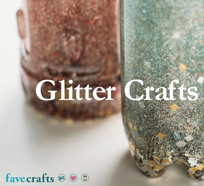 Most Stunningly Beautiful Glitter Crafts