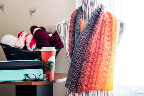 Knit Mandala Cowl Allfreeknitting Com