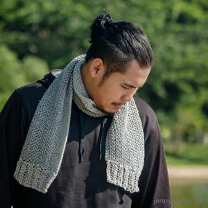 Wilton Gray Men Scarf