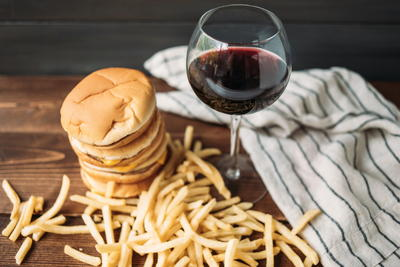 Takeout food and wine pairings