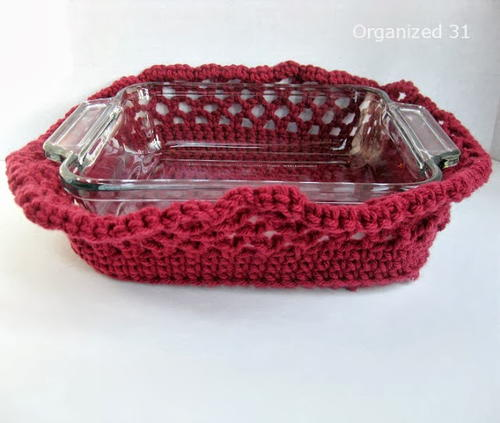 Easy Crochet Casserole Cozy