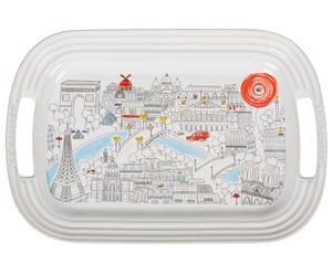 Le Creuset Paris Map Platter Giveaway