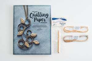The Art of Quilling Paper Jewelry Book and Whimsiquills Paper Set Giveaway