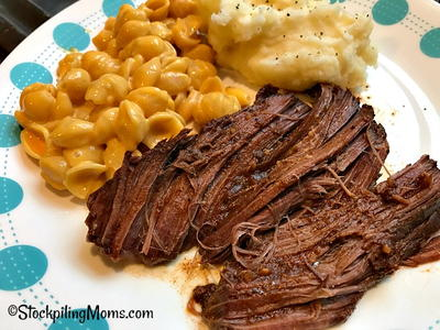 Slow Cooker Texas Roadhouse Pot Roast