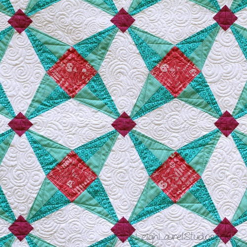 Fruit Ninja Paper Pieced Star Quilt