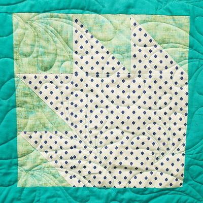 Bear Paw Block Pattern