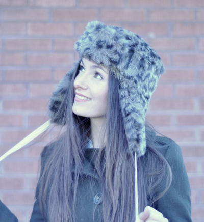 Faux Fur Bomber Hat Tutorial