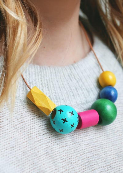 Art Teacher-Inspired Statement Necklace