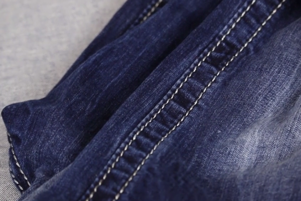 Types of Topstitches - Jeans Example