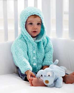 Soft Knit Baby Hoodie
