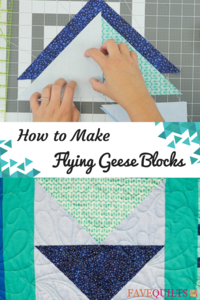 How to Make Flying Geese Blocks
