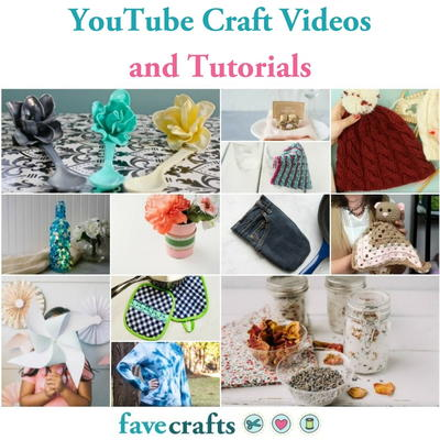 73 Youtube Craft Videos And Tutorials Favecraftscom