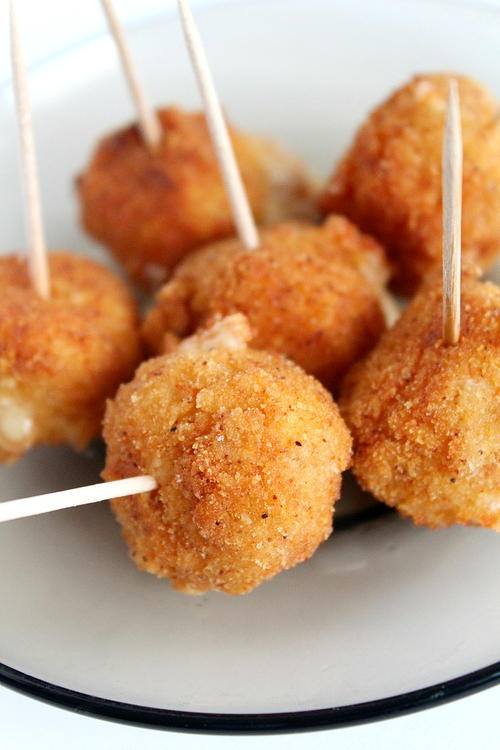 Pub-Style Spicy Fried Cheese Balls