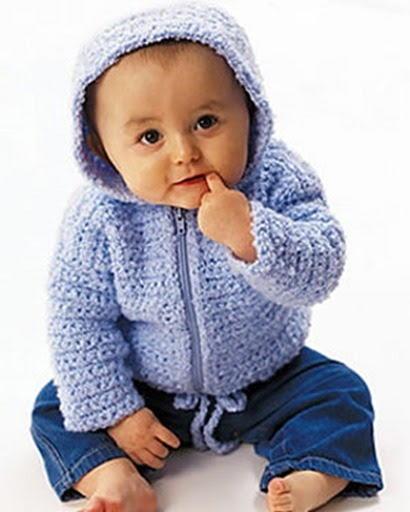 Baby Cardigan Crochet Pattern Favecrafts Com