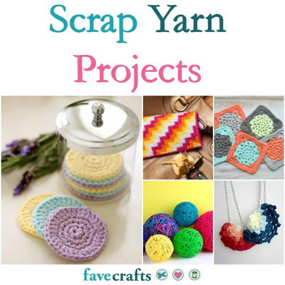 53 Scrap Yarn Projects  e4bb6345a19