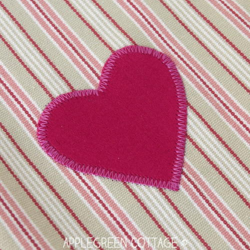 Quick and Easy Heart Applique
