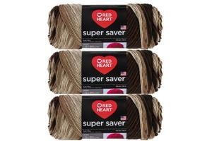 Red Heart Striped Super Saver Craft Yarn Giveaway