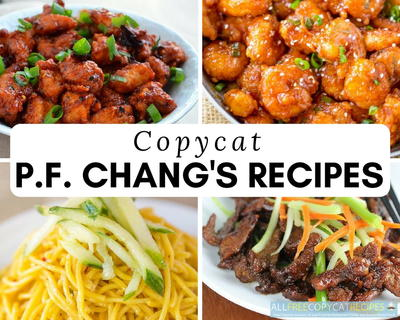 Copycat PF Changs Recipes