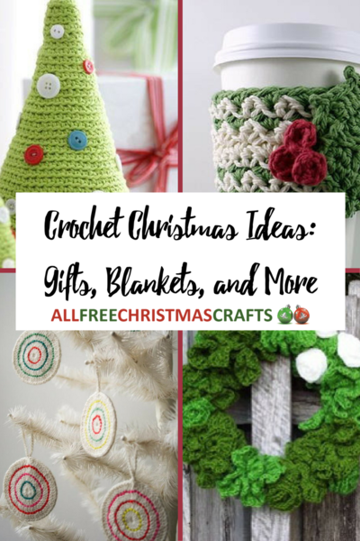 40 Crochet Christmas Ideas Gifts Blankets and More  sc 1 st  All Free Christmas Crafts & 40+ Crochet Christmas Ideas: Gifts Blankets and More ...