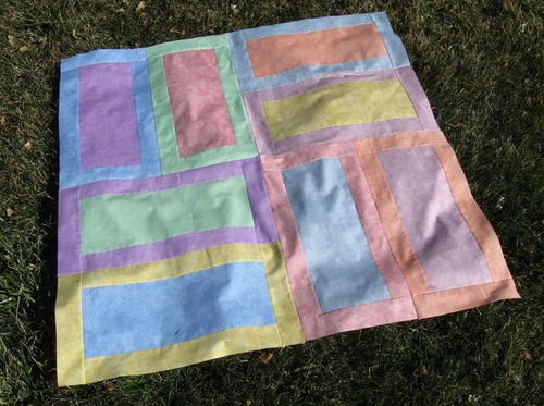 Easy Watercolor Quilt