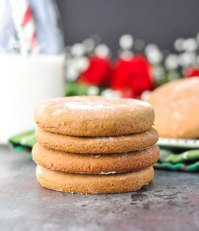 Old-Fashioned Williamsburg Gingerbread Cookies