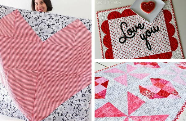 The 18 best heart quilt patterns for valentines day favequilts.com