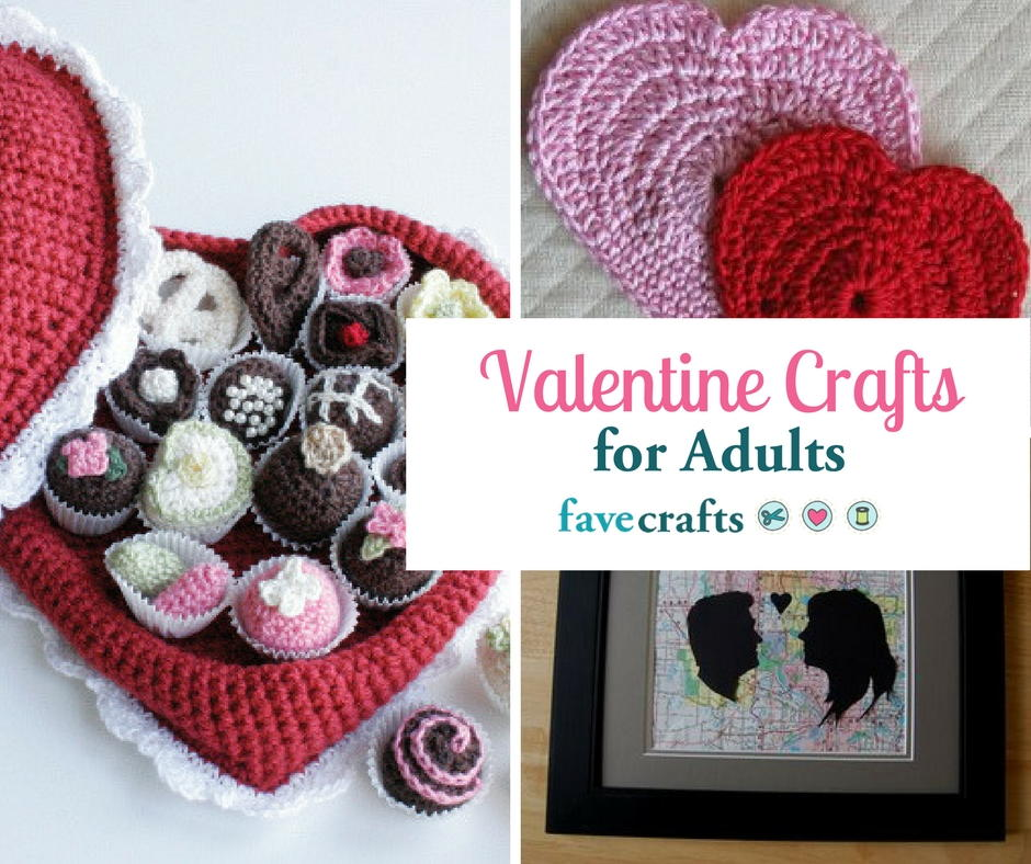 40 valentine crafts for adults favecraftscom