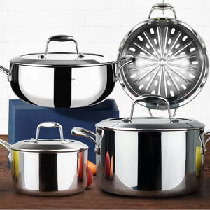 Homi Chef Stainless Steel 7-Piece Cookware Set Giveaway