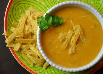 Copycat Max and Ermas Tortilla Soup Recipe
