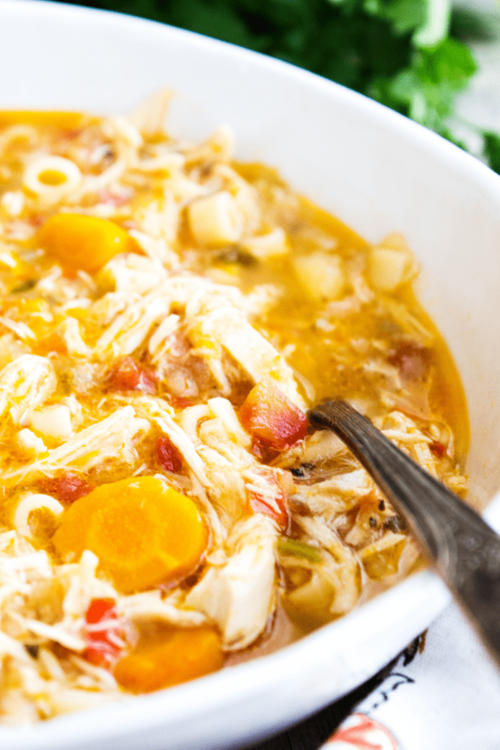 Copycat Carrabbas Sicilian Chicken Soup