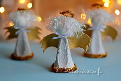 Lovely Egg Carton Angels
