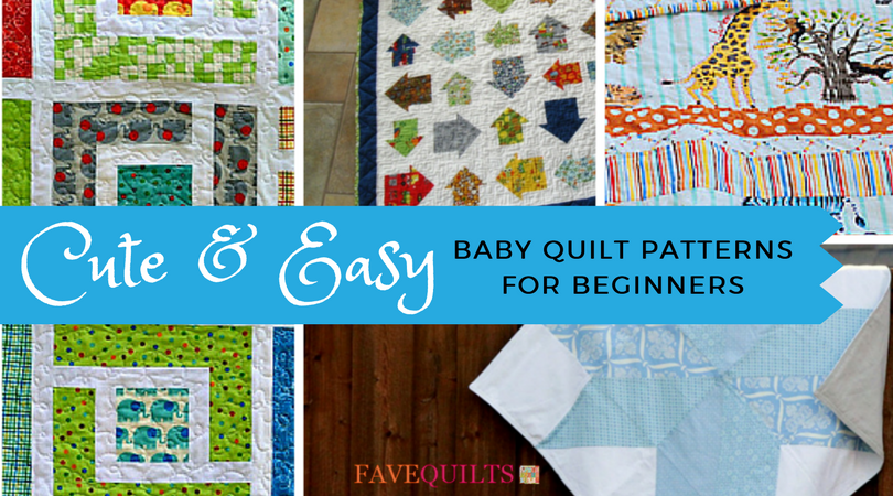 15 cute and easy baby quilt patterns for beginners favequilts.com