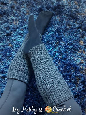 98eaba48e6d5a 15 Cute Crochet Leg Warmers | AllFreeCrochet.com