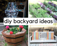 30+ DIY Backyard Ideas and Other DIY Garden Projects